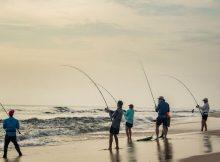 Gambar Surf Fishing - ikan laut dangkal
